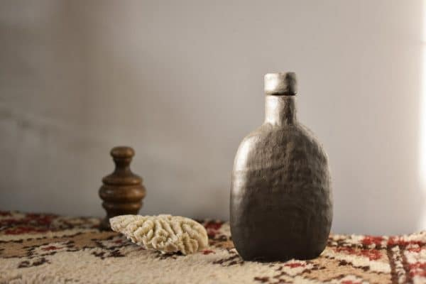 fiole wabi sabi boheme gres ceramique made in france
