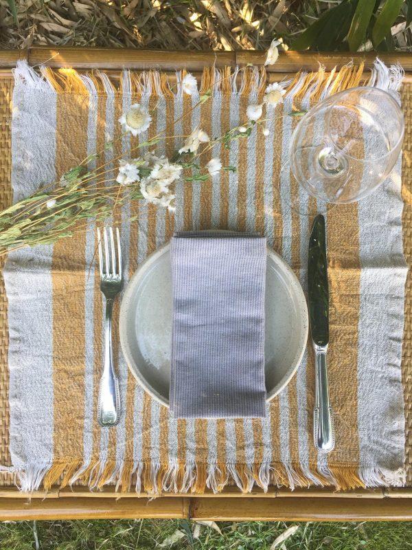 decoration d'intérieur éco-responsable art de la table au naturelle
